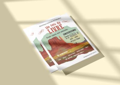 Affiche fête du livre